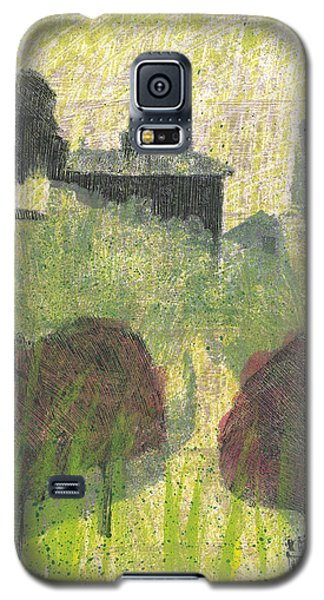 Galaxy S5 Case featuring the painting Mas En Provence by Martin Stankewitz