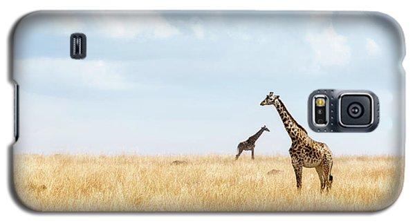 Masai Giraffe In Kenya Plains Galaxy S5 Case
