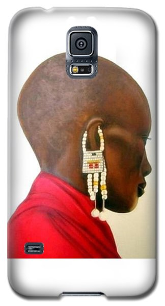 Masai Woman - Original Artwork Galaxy S5 Case