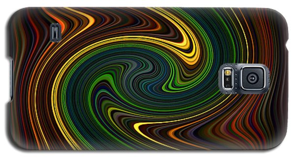 Masculine Waves Galaxy S5 Case