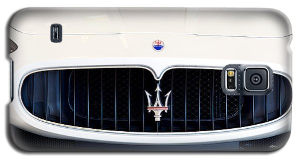 Maserati White Pano 121715 Galaxy S5 Case