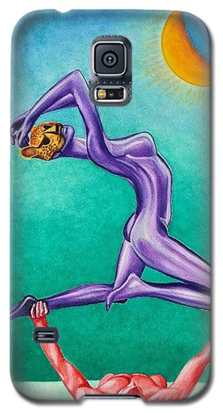 Mask Of The Cheetah Galaxy S5 Case