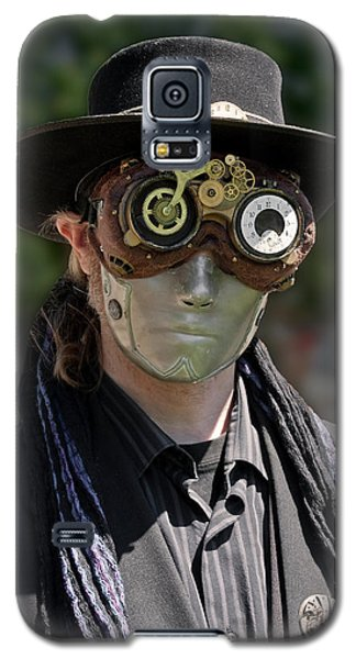 Masked Man - Steampunk Galaxy S5 Case by Betty Denise