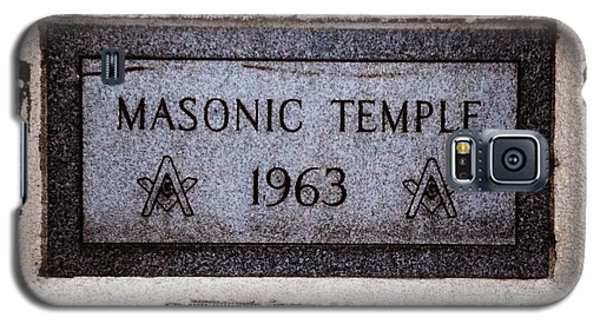 Masonic Temple Galaxy S5 Case
