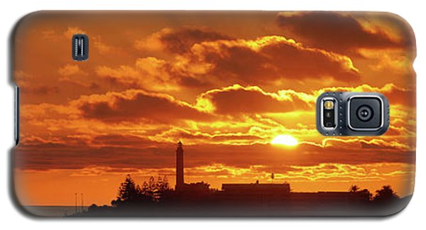 Maspalomas Sunset Panorama Galaxy S5 Case