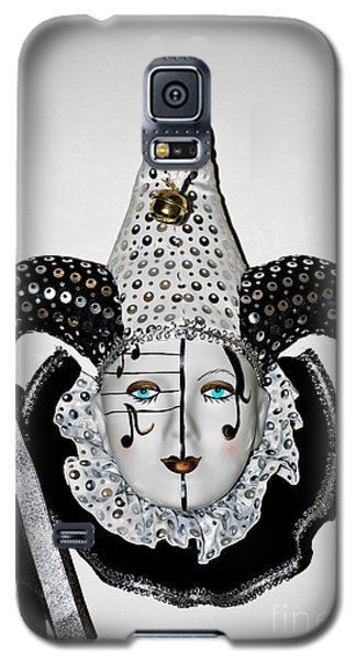Galaxy S5 Case featuring the photograph Masquerade Mask by Yurix Sardinelly