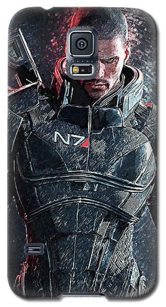 Mass Effect Galaxy S5 Case by Taylan Apukovska