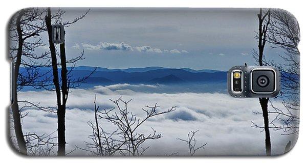Galaxy S5 Case featuring the photograph Massanutten Foggy Top 1 by Lara Ellis