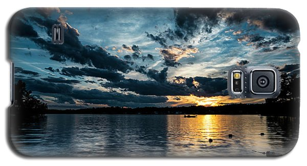 Masscupic Lake Sunset Galaxy S5 Case