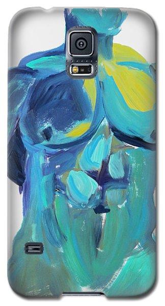 Massive Hunk Blue-green Galaxy S5 Case by Shungaboy X