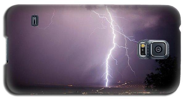 Massive Lightning Storm Galaxy S5 Case