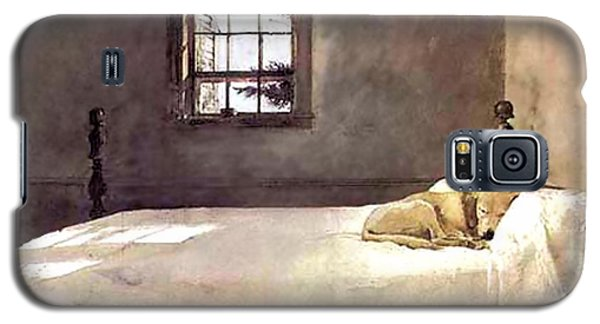 Galaxy S5 Case featuring the painting Master Bedroom  by Andrew Wyeth