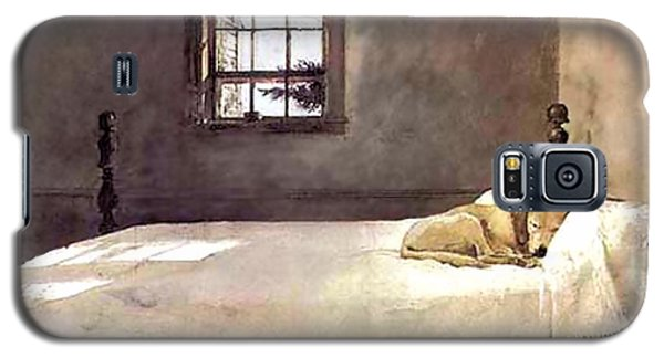 Master Bedroom  Galaxy S5 Case by Andrew Wyeth