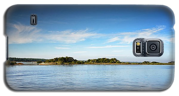 Blue River Inlet  Galaxy S5 Case