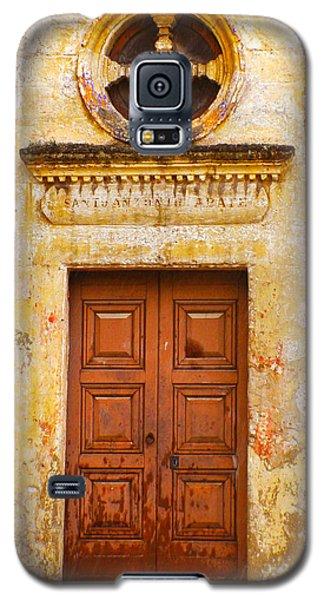 Matera Church Door Galaxy S5 Case