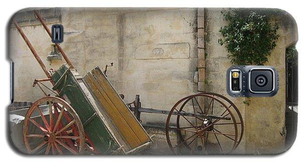 Matera Old Horsecart Italy Galaxy S5 Case