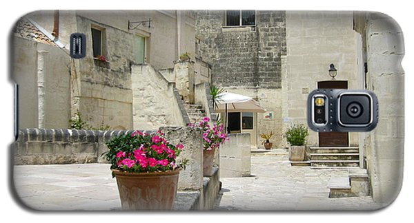 Matera With Flowers Galaxy S5 Case