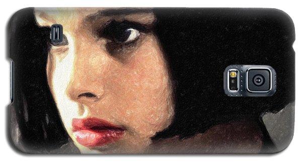 Mathilda Galaxy S5 Case by Taylan Apukovska