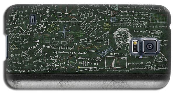 Maths Formula On Chalkboard Galaxy S5 Case by Setsiri Silapasuwanchai