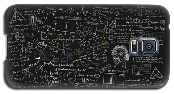 Maths Formula Galaxy S5 Case by Setsiri Silapasuwanchai