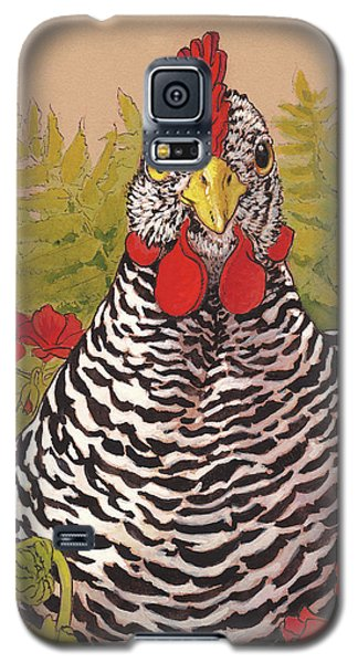 Matilda In The Geraniums Galaxy S5 Case by Tracie Thompson