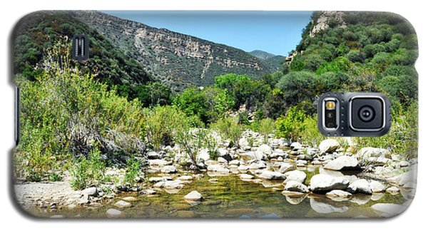 Galaxy S5 Case featuring the photograph Matilija Hot Springs by Kyle Hanson