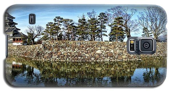 Matsumoto Castle Panorama Galaxy S5 Case
