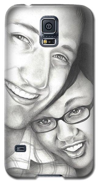 Matt And Jasmine Galaxy S5 Case
