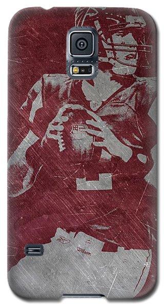 Matt Ryan Atlanta Falcons Galaxy S5 Case by Joe Hamilton