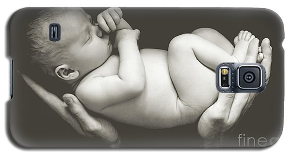 Matte Baby Art Galaxy S5 Case