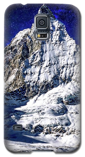 Matterhorn At Twilight Galaxy S5 Case