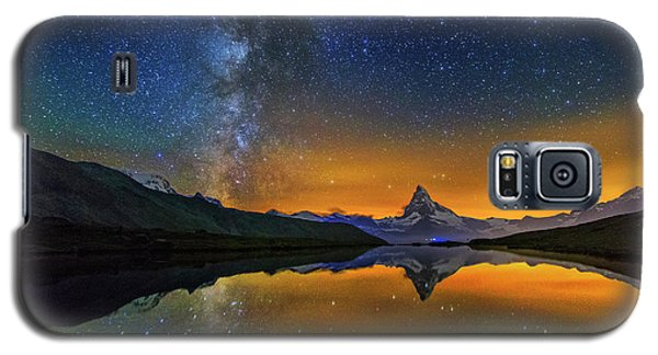 Matterhorn By Night Galaxy S5 Case