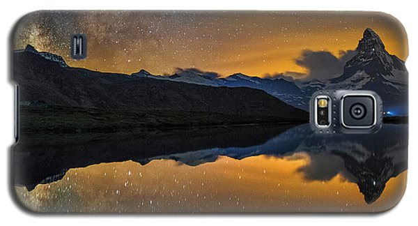 Matterhorn Milky Way Reflection Galaxy S5 Case