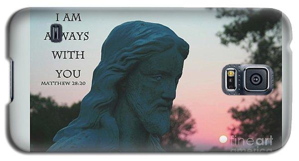 Matthew 28/20 - Jesus Statue Galaxy S5 Case