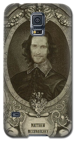 Matthew Mcconaughey   Galaxy S5 Case by Serge Averbukh