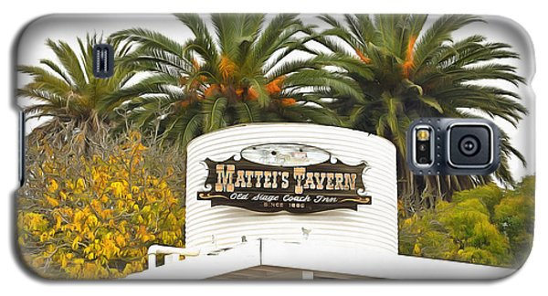 Galaxy S5 Case featuring the photograph Matties Tavern Los Olivos California by Floyd Snyder