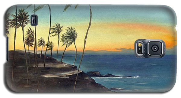 Galaxy S5 Case featuring the painting Maui by Carol Sweetwood