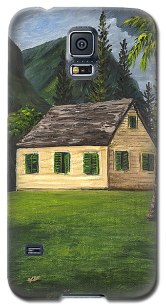 Galaxy S5 Case featuring the painting Maui Nature Center by Darice Machel McGuire