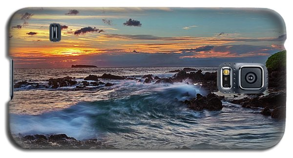 Maui Sunset At Secret Beach Galaxy S5 Case