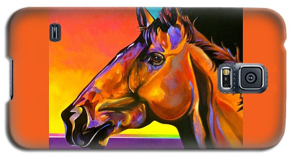 Galaxy S5 Case featuring the painting Maurice by Bob Coonts