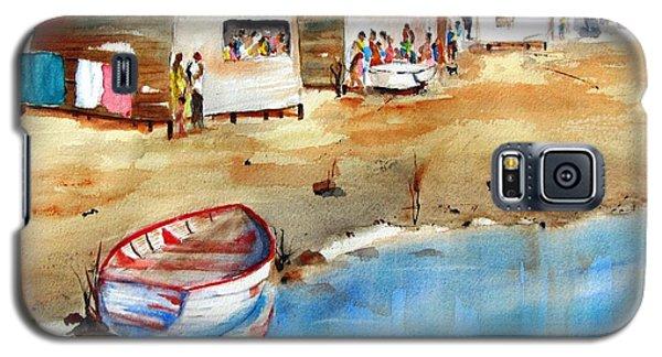 Mauricio's Village - Beach Huts Galaxy S5 Case