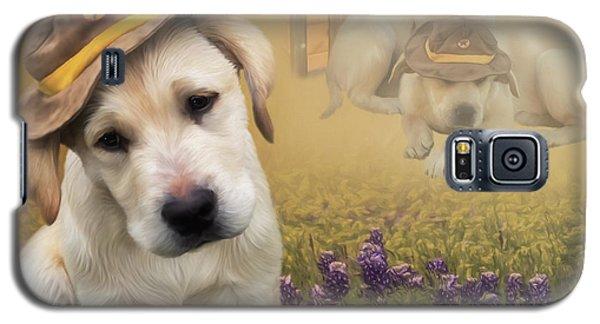 Maverick And Tori - Labrador Art Galaxy S5 Case
