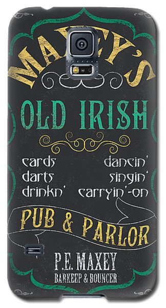 Maxey's Old Irish Pub Galaxy S5 Case by Debbie DeWitt