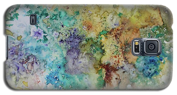 Galaxy S5 Case featuring the painting May Flowers by Joanne Smoley
