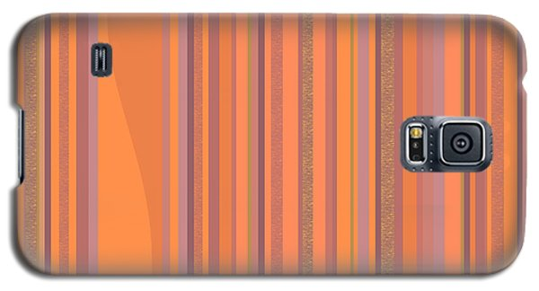 May Morning Vertical Stripes Galaxy S5 Case by Val Arie