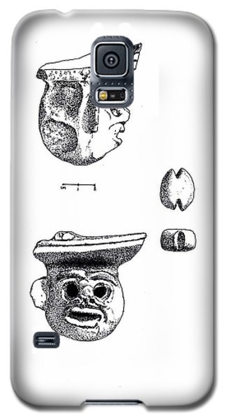 Maya Ceramic Head Galaxy S5 Case