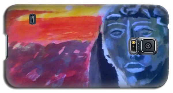 Maya Sunset Galaxy S5 Case