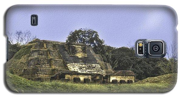 Mayan Ruins In Belize Galaxy S5 Case