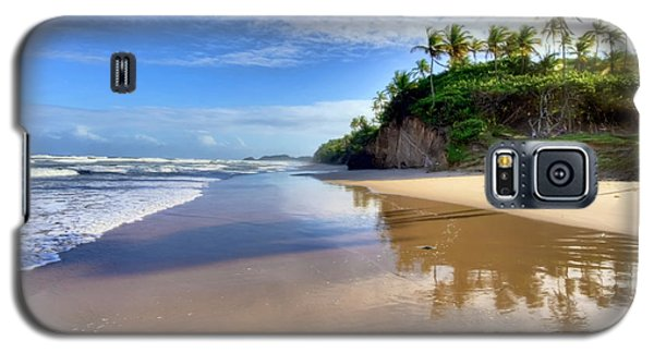 Mayaro Beach Trinidad Galaxy S5 Case by Nadia Sanowar