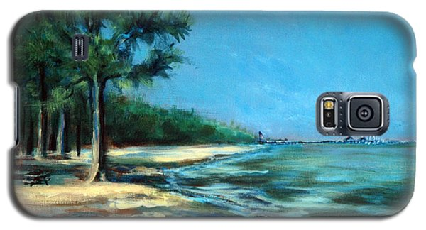 Galaxy S5 Case featuring the painting Maybe A Picnic by Suzanne McKee